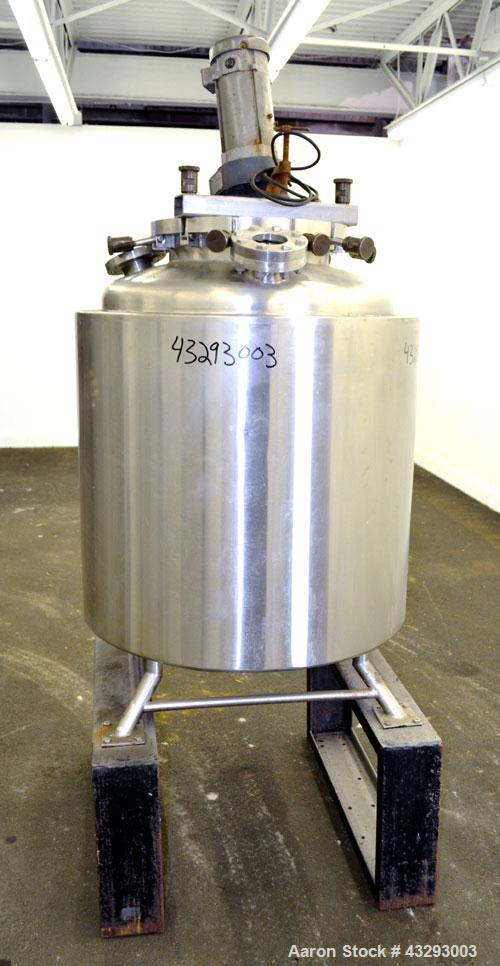 Used- 79.27 Gallon Stainless Steel A-L Stainless Kettle, Model G-100DC