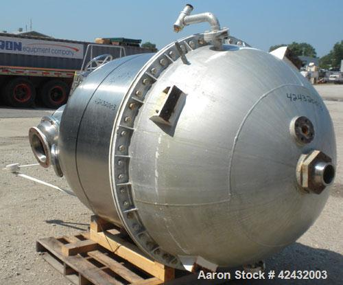 Used- 400 Gallon Stainless Steel Ing. A. Rossi Vacuum Pan Kettle