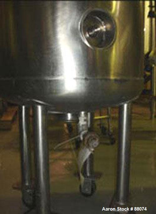 Used- 30 Gallon Stainless Steel B & G Kettle