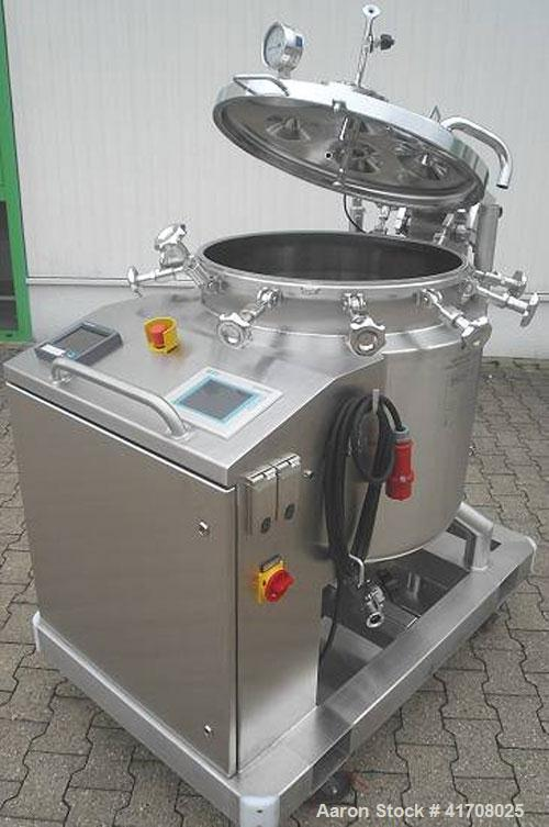 Used- 48 Gallon Binder Jacketed Mixing Vessel