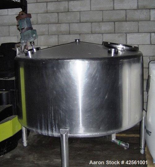 Used-Brighton Kettle, 400 gallon,  jacketed. sweep agitator.