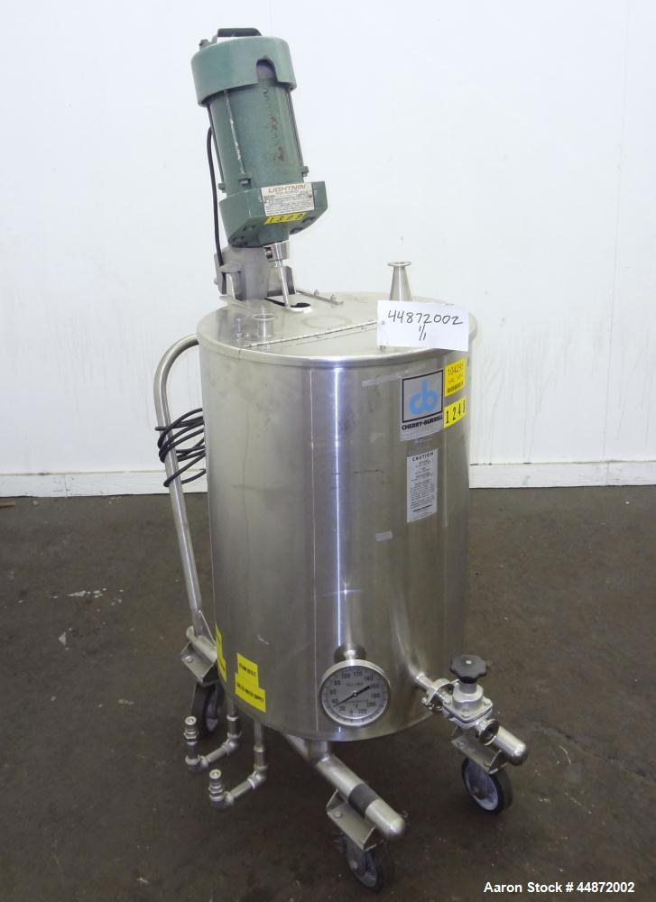 Used- 26.4 Gallon Stainless Steel Cherry Burrell Kettle, Model 26.4PVE