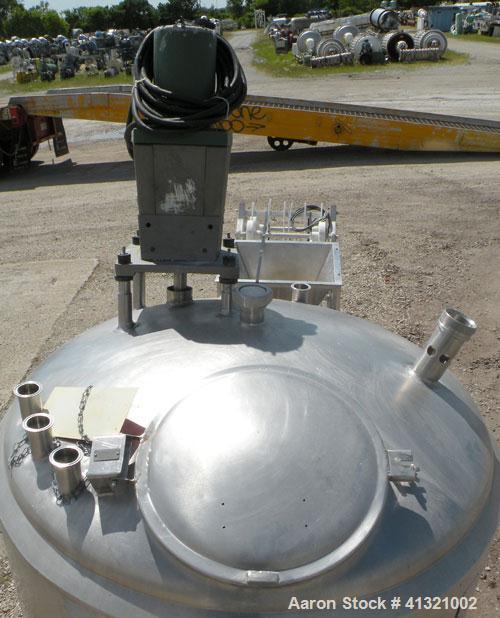 Used- 250 Gallon Stainless Steel Cherry Burrell Kettle, Model MFPDA