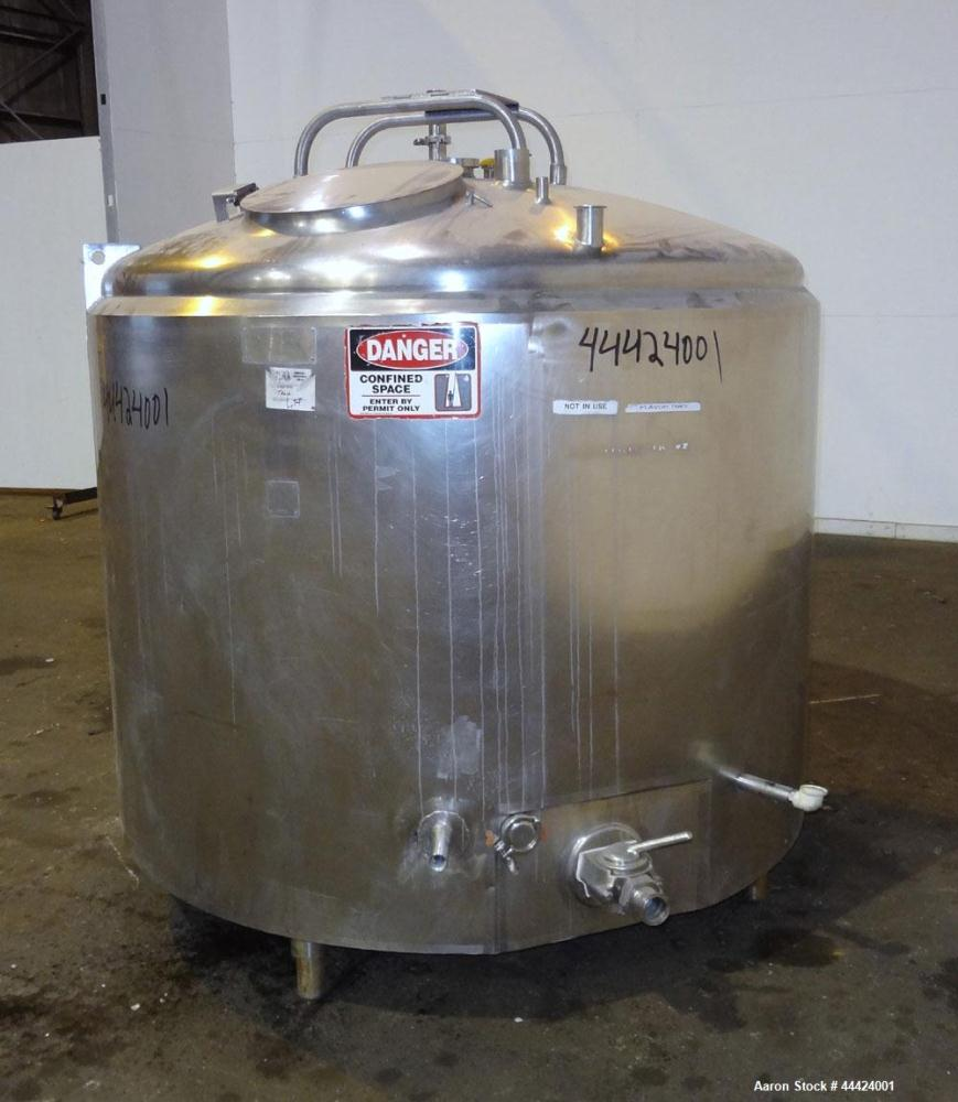 Used- 600 Gallon Stainless Steel Cherry-Burrell Kettle