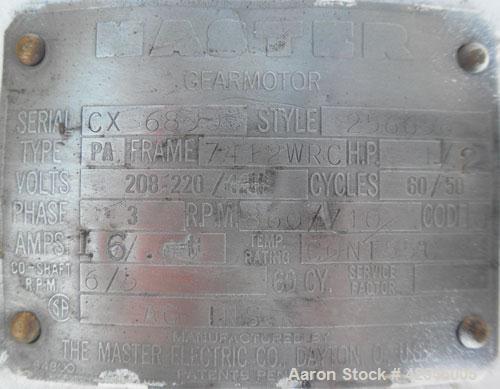 "Used- Creamery Package Milkeeper Bulk Farm Jacketed Milk Tank, 1000 gallon, model R, 304 stainless steel, horizontal. ""U"" sh..."