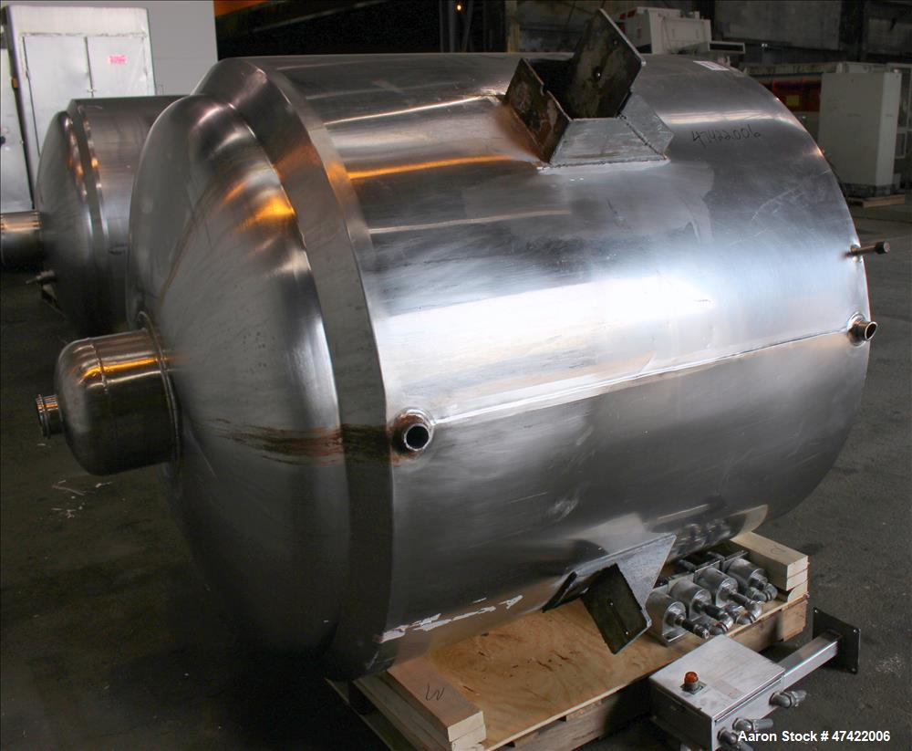 Used- The Creamery Package Company Kettle, Approximate 500 Gallons