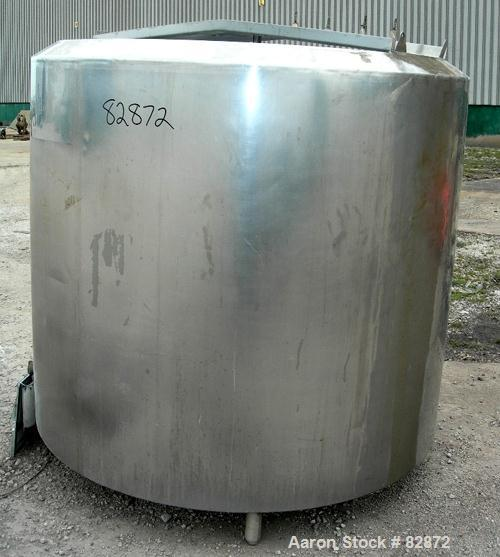 "USED: Creamery Package Processor/Kettle, 775 gallon, stainless steel, vertical. 66"" diameter x 60"" deep. Insulated, jacketed..."