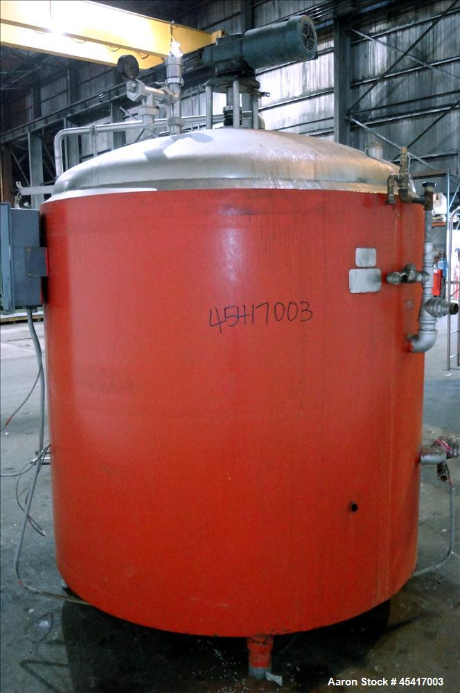 Used- 800 Gallon Stainless Steel Crepaco Processor Kettle