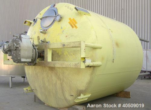 """Used- Crepaco Kettle, 5,000 gallon, 304 stainless steel, vertical. Approimately 112"""" diameter x 112"""" straight side, dished t..."""
