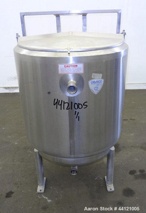 Used- 60 Gallon Stainless Steel Crepaco Kettle