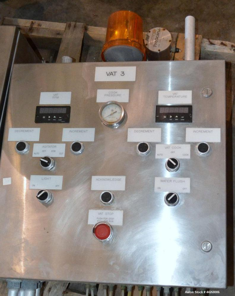 Used- Damrow Model Double O Cheese Vat