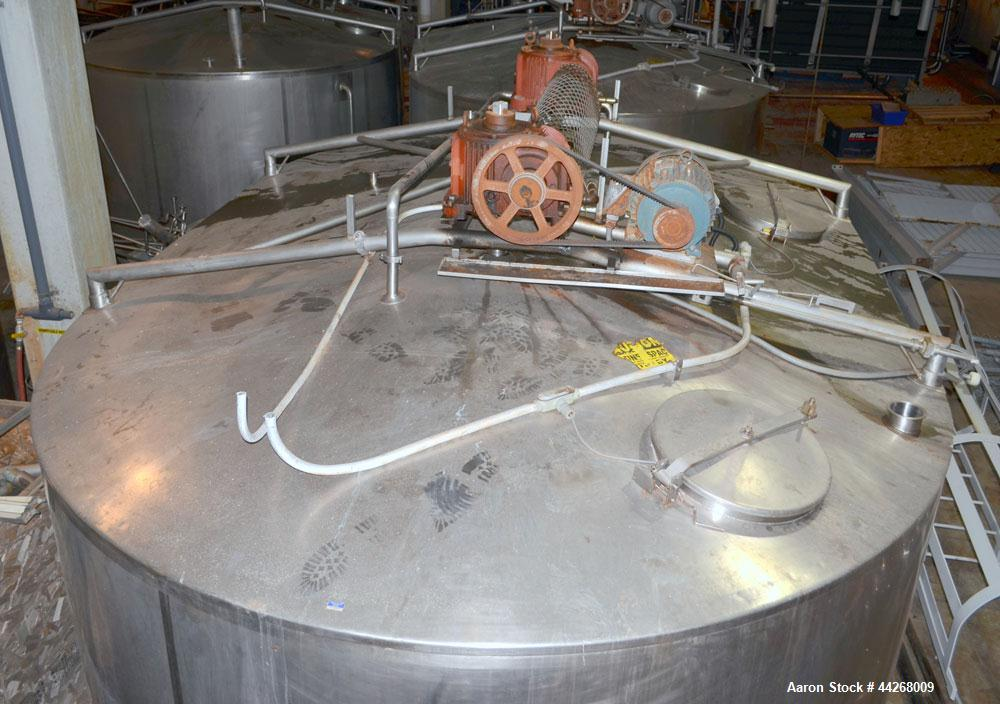 Used- 50,000 lb Capacity Damrow Model Double O Cheese Vat