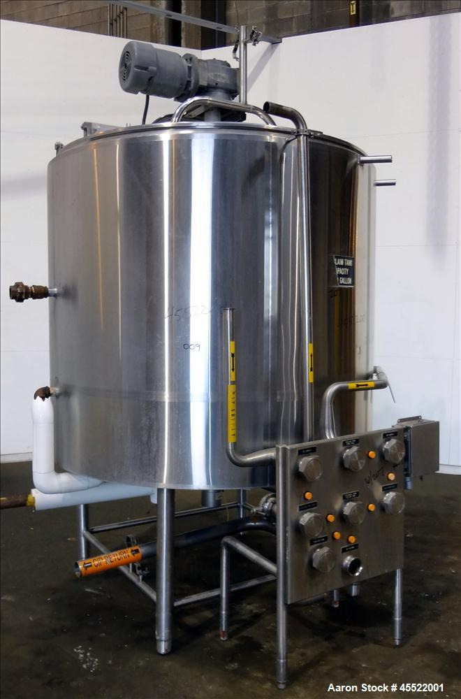 Used- 1000 Gallon Stainless Steel DCI Processor Kettle