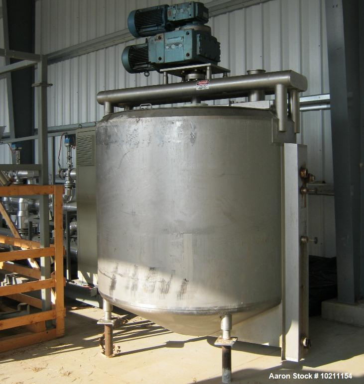 Used- Stainless Steel Contact Parts