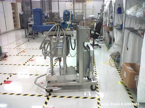 Used- 30 Liter Stainless Steel Feldmeier Twin Motion Kettle