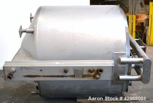 Used- 750 Gallon Stainless Steel Feldmeier Kettle