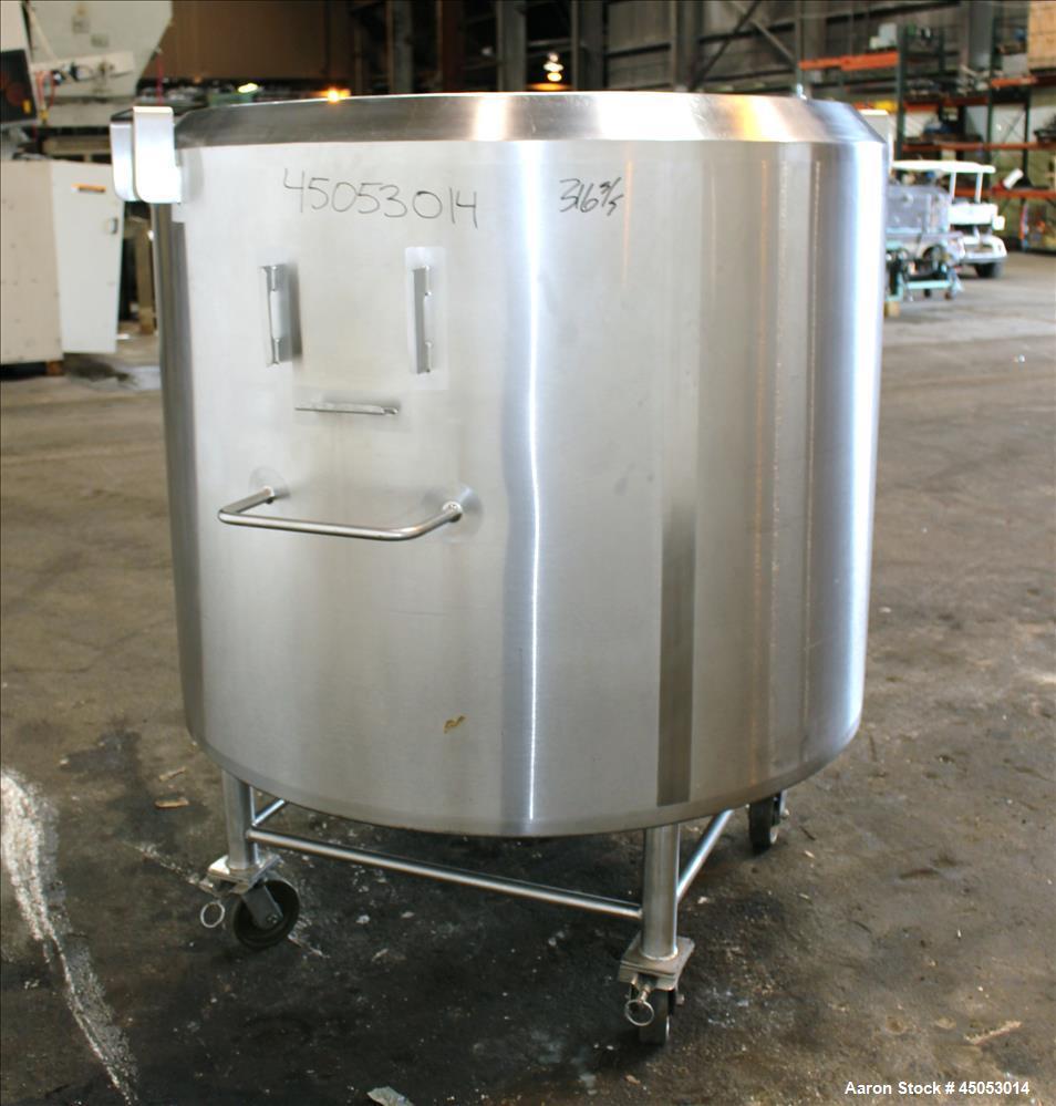 Used- 300 Gallon Stainless Steel Feldmeier Kettle