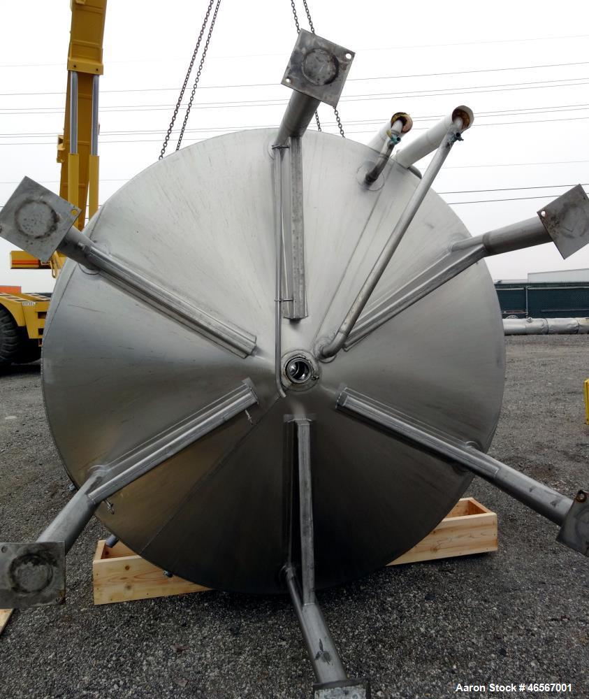 Used- Feldmeier Kettle/Processor, Approximate 6,000 Gallon, 304 Stainless Steel,
