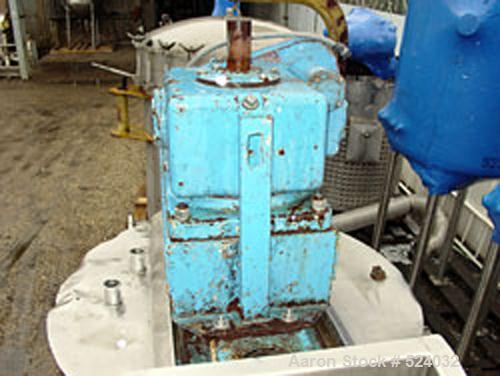 """USED: FMC jacketed chopper tank. Approximate overall size 8'6"""" long x4'6"""" wide x 8'6"""" high. Approximate inside dimensions: 4..."""