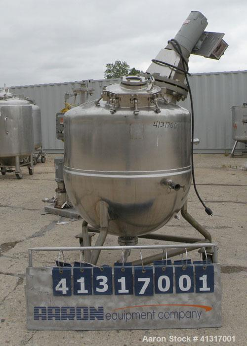 Used- 100 Gallon Stainless Steel Groen Kettle