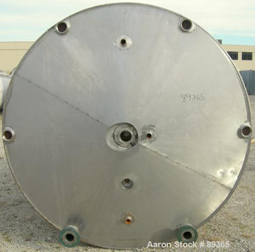 "USED: Groen processor/kettle, 2000 gallon, model 2000-SP, 304 stainless steel, vertical. 84"" diameter x 90"" straight side. O..."