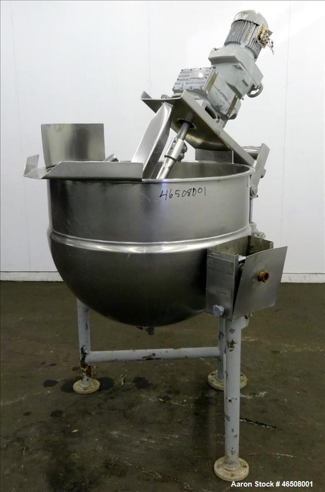 Used- Groen Kettle, Model DN/INA/2-8, 80 Gallon
