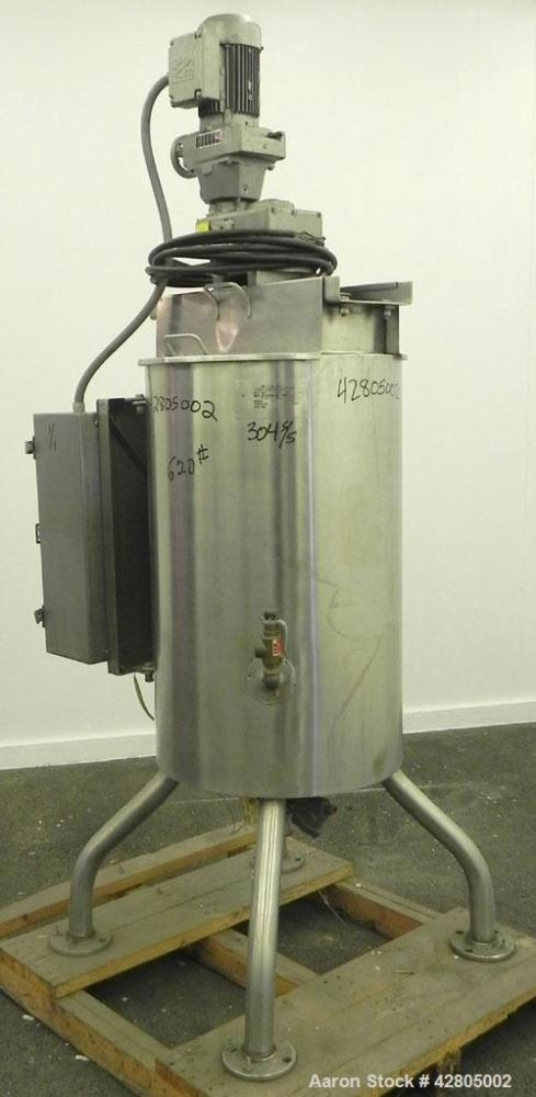 Used- 40 Gallon Stainless Steel Groen Kettle, Model JE/RA-40