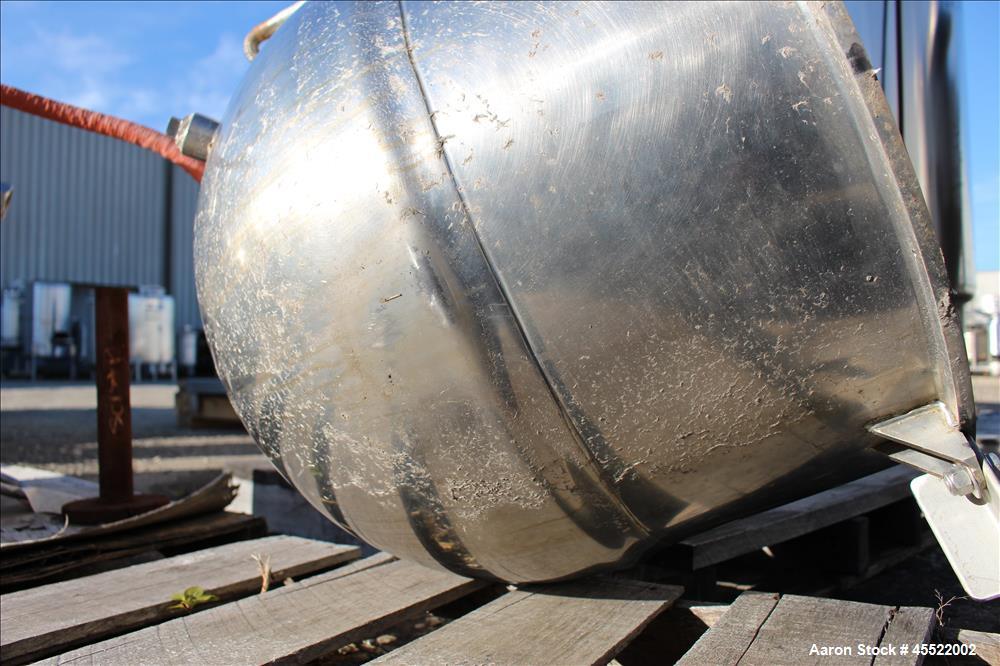 Used- 40 Gallon Stainless Steel Groen Kettle, Model N-40