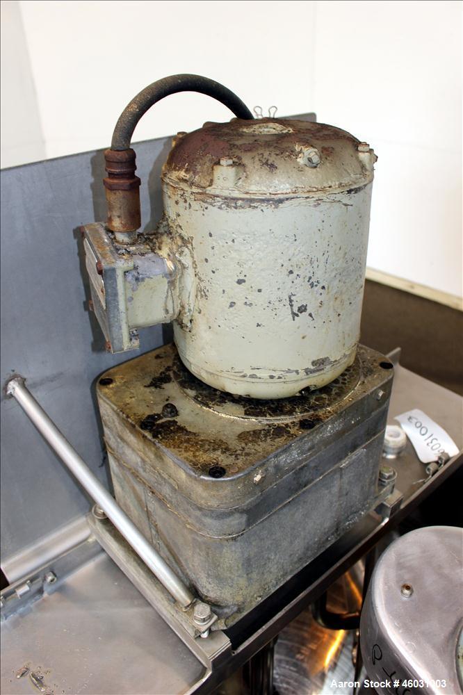 Used- Groen Single Motion Kettle, 150 Gallon, Model RA-150