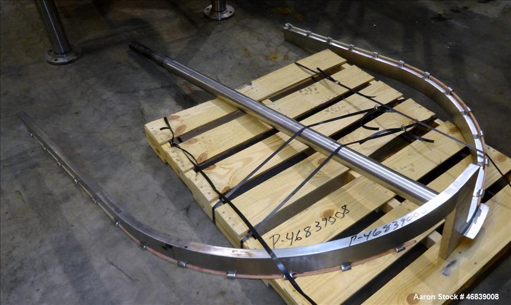 Used- Groen Kettle, 600 Gallon, Model TA-600, 316 Stainless Steel, Vertical.