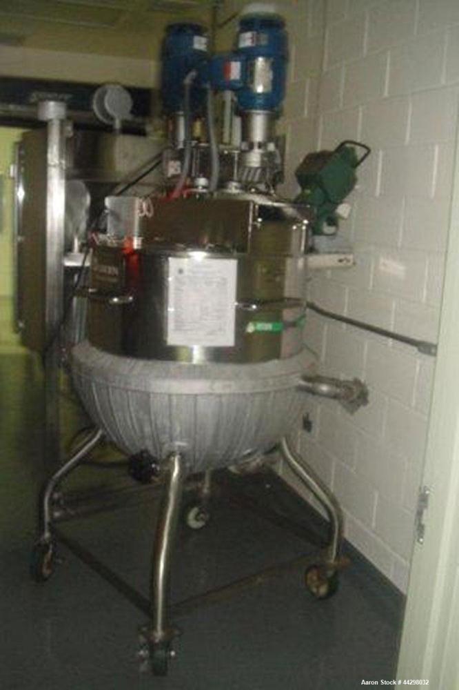 Used- 80 Gallon Stainless Steel Groen Triple Motion Kettle, Model TA/80