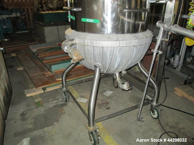 Used- 80 Gallon Stainless Steel Groen Triple Motion Kettle, Model TA/80