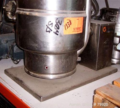 Used- 5 Gallon Stainless Steel Groen Self-Contained Table Top Steam Jacketed Ket
