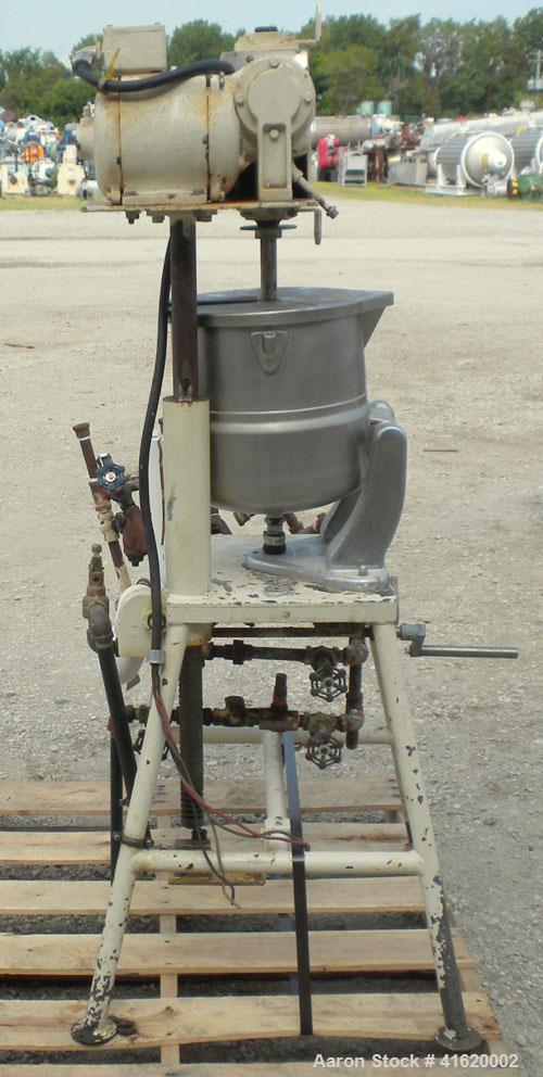 Used- 5 Gallon Stainless Steel Groen Kettle, Model TDC20SP