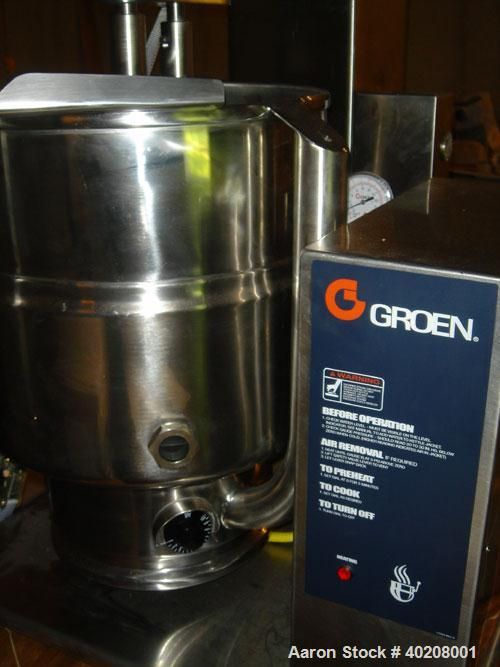 Unused-Unused: Groen kettle/mixer, model TDB40-TA/2. Stainless steel, self-contained steam unit, electric. Manufactured in 2...