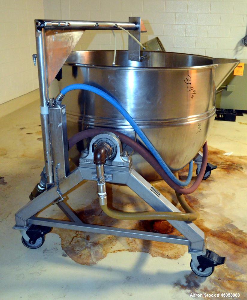 Used-  200 Gallon Stainless Steel Hamilton Kettle