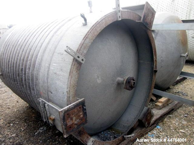Used- 1000 Gallon Stainless Steel Imperial Steel Kettle