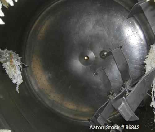 "Used- Ipsco Kettle, 3000 gallon, 316 stainless steel, vertical. 90"" diameter x 106"" straight side, flat bolt on top, dish bo..."