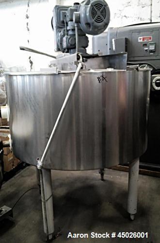 Used-Chester Jensen 100 Gallon Cooker Cooler