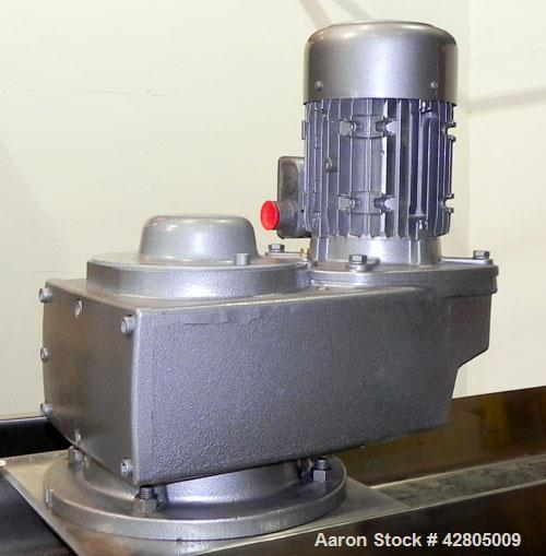 Used- Lee Industries Single Motion Kettle, 1,000 Gallon, Model 1000D9MS, 316 Stainless Steel, Vertical. 72'' Diameter x 72''...