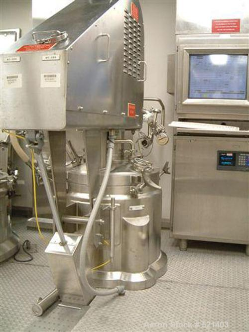 USED: Lee 100 liter triple motion vacuum processor. Internal pressure full vacuum/45 psi @ 350 deg F, jacket rated 100 psi @...