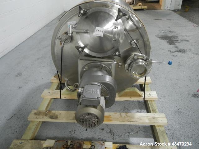 Used- 100 Gallon Stainless Steel Lee Industries Kettle, Model 100UTS