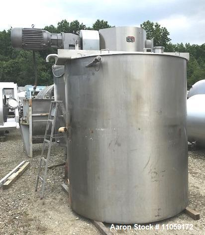 Used- Lee Double Motion Jacketed Mix Kettle, Model 1500U9MS