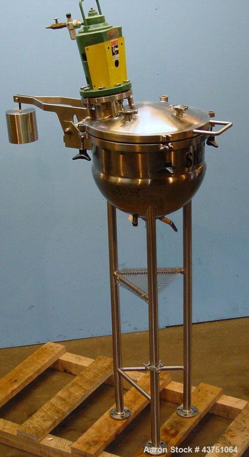 Used- 20 Gallon Stainless Steel Lee Industries Vacuum Kettle, Model 20D
