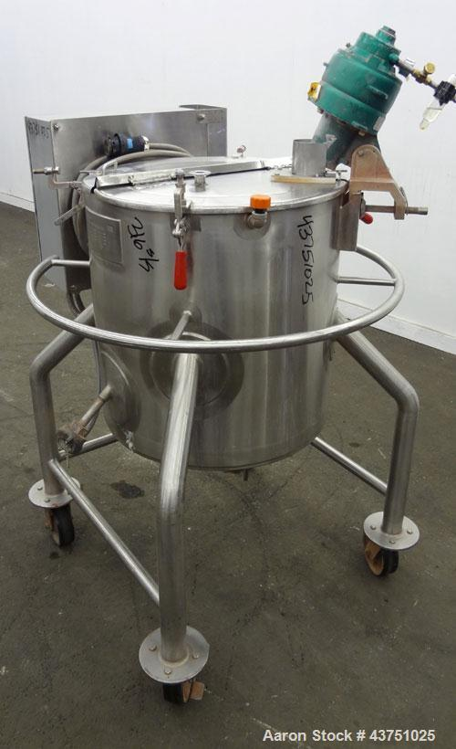 Used- 25 Gallon Stainless Steel Lee Industries Electrically Heated Kettle, Model 25A