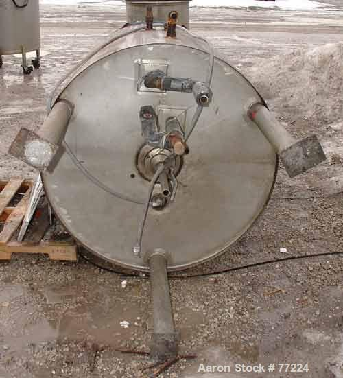 Used- 300 Gallon Stainless Steel Lee Industries Kettle, Model 300U