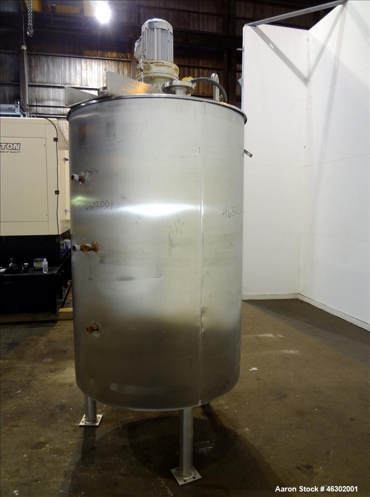 """Used-Lee Industries Kettle, Model 325U7S, Approximate 325 Gallons, 316 Stainless Steel, Vertical. Approximate 44"""" Diameter x..."""