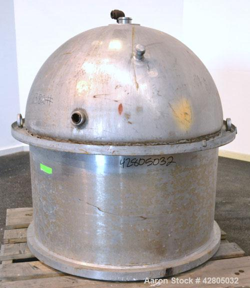 Used-  400 Gallon Stainless Steel Lee Industries Kettle, Model 400D