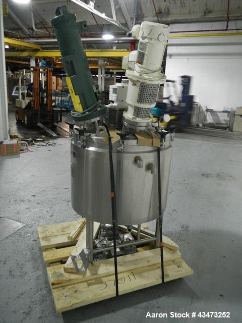 Used- 40 Gallon Stainless Steel Lee Industries Triple Motion Kettle