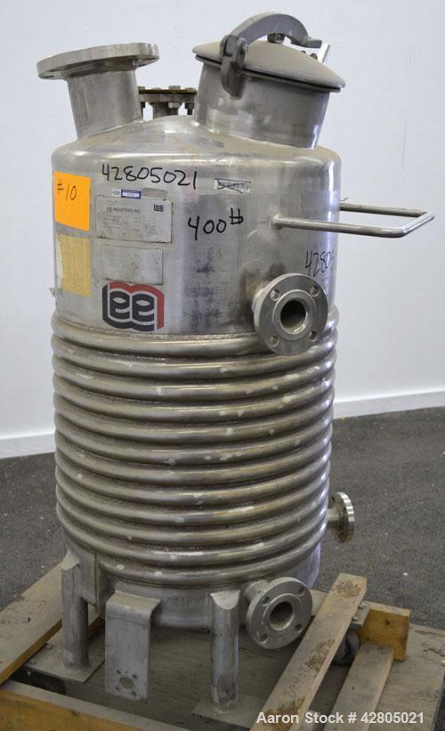 Used- 50 Gallon Stainless STeel Lee Industries Kettle, Model 50U